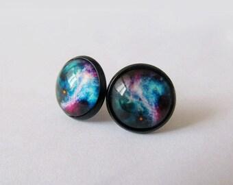Galaxy Earrings - Blue Series