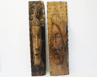 Not For Sale/Research Being Done/Wood Carvings