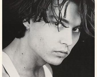 Johnny Depp Rare Vintage Poster