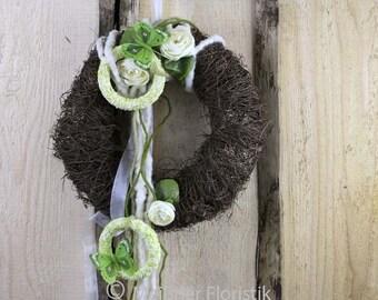 """""""Green Spring white wreath"""""""