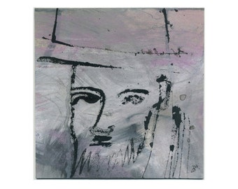 """Portrait """"Man with Hat and beard"""""""