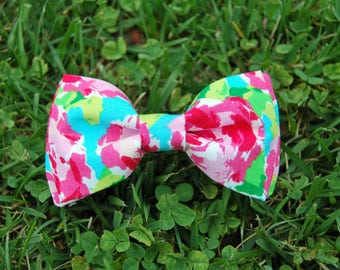 Floral Spring Bow Tie