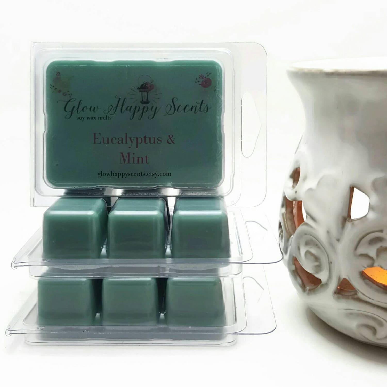 eucalyptus mint candle tarts scented wax melts long. Black Bedroom Furniture Sets. Home Design Ideas