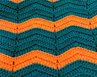 Miami dolphins baby blanket