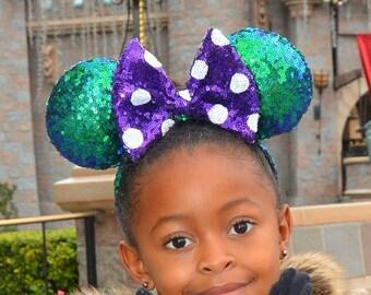 Ariel- Rock Tha Dots Minnie Ears