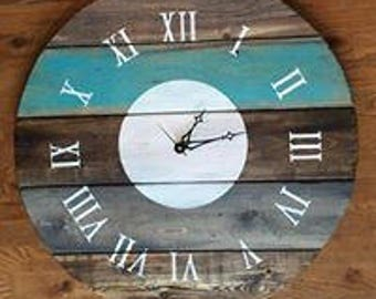 Large Rustic Clock- 27 inches