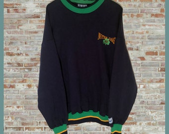 Vintage Notre Dame Crewneck Sweatshirt Sweater Extra Large XL