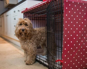 Dog Crate Cover - Dog Crate Topper - Large Crate Cover  - Dog Bed Cover - Dog Accessories - Crate Cover For Dogs - Pet Crate Cover - Dog