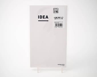 "Kokuyo IDEA notebook two-pack with Tomoe River graph paper (5"" x 8.25"")"