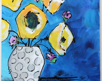 Abstract Florals, Home Decor