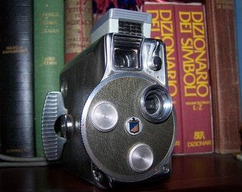 Vintage Keystone Camera 8mm, Vintage Keystone Movie Camera, Keystone K-48 Bell Air Magazine 8mm Movie Camera with Keystone light meter