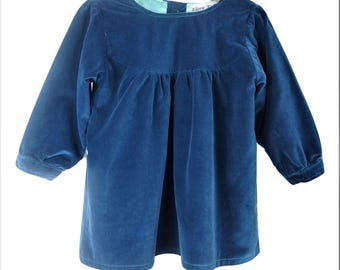 Blue Iris mini dress