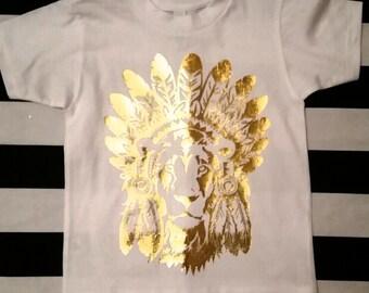 Boho Lion Tshirt