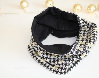 Toddler Infinity Scar, Black, White and Gold fashion