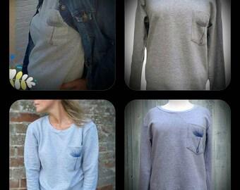 Dandelion Pocket Sweatshirt
