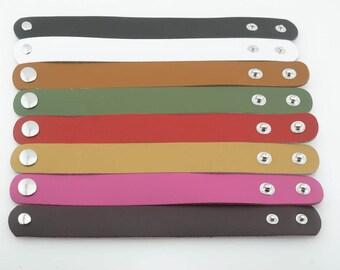 Leather Cuff Blank, Blank Leather Cuff - 1 inch leather cuff - leather cuff bracelets - blank leather template - leather cuff supplies -