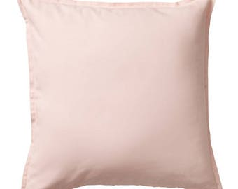 Blush Pink Pillow Cover