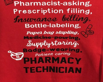 Pharmacy Tech shirt