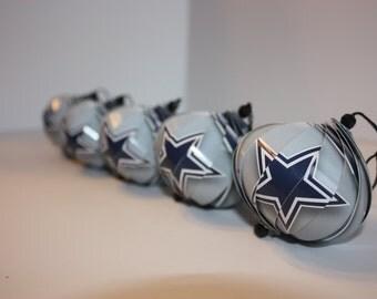 Dallas Cowboys Ornaments : Single or Set of 5