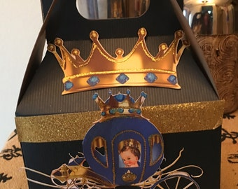1 Royal baby party favor boxes