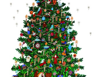 IFI Christmas Tree Poster Wrap