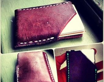 card holder wallet - glow stitching