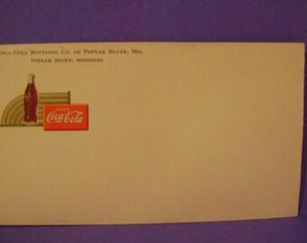 Vintage Coca Cola Envelope