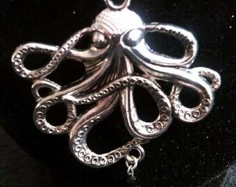Octopus Treasure Necklace