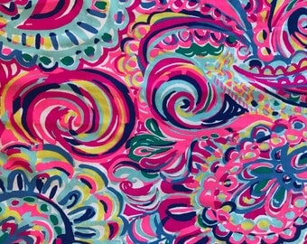 PSYCHEDELIC SUNSHINE 13x12 or 5x5 Lilly  resort 2016 2017