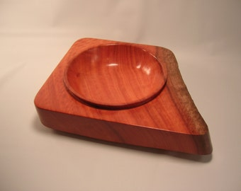Red Eucalyptus Illusion Bowl