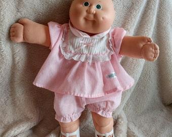 VINTAGE doll baby Boutchou / Mid-Century Sweet Baby Cabbage Patch Doll Cabbage Patch Kids Baby Girl /VTG