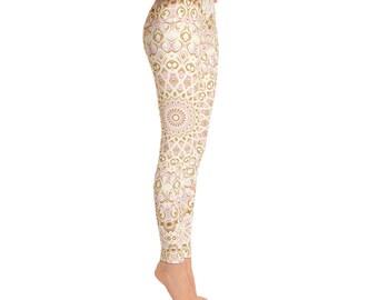 Stretchy Yoga Pants Gifts - Cute Printed Bridesmaid Leggings, Womens Pattern Leggings Tights
