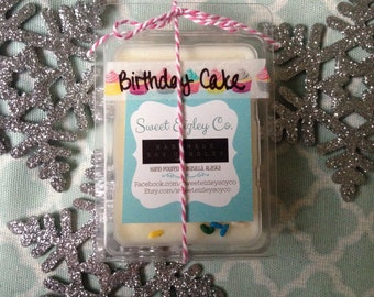 CLEARANCE Birthday Cake Soy Wax Melts