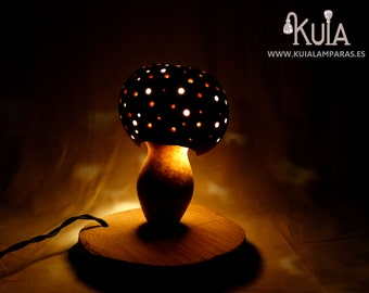 Decoration lamp amanita muscaria