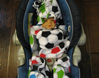 Soccer Ball Snuggle Wrap