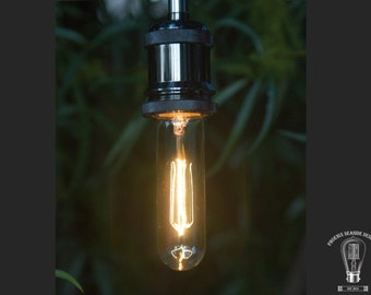 T10 Vintage Style Edison Filament Bulb with Straight Filament 40W-110V
