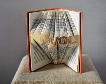 Christmas Gifts For Boyfriend/Girlfriend - Folded Book Art Sculpture