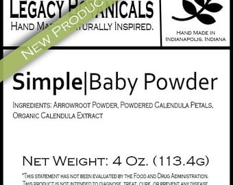 Simple Baby Powder
