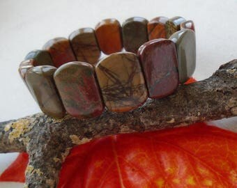 Picasso Jasper, stones, bracelet, Bangle, bracelet