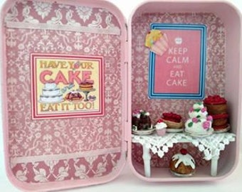 Have Your Cake and Eat it Too - Altered Altoid Tin