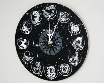 """Zodiac Wall Clock - Zodiac 11"""""""