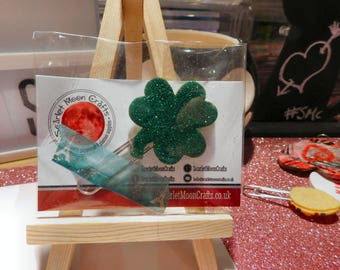 Lucky Shamrock Planner Clip | Clover Planner Clip | St Patrick's Day | Paperclip