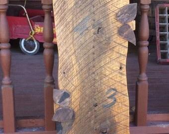 Growth chart, Barn wood, wood ruler, homemade giant ruler, measuring stick, kids nursery