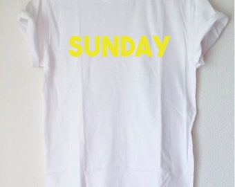 Graphic Tees: Days of the Week