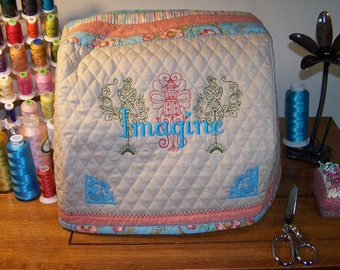 Babylock Imagine Serger Machine Cover Pattern, Babylock, Serger, Imagine, Imagine Serger, PDF Pattern, Cover Pattern