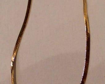 14K Gold Bracelet Marked HTC585
