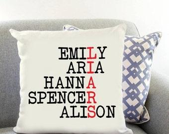 "Pretty Little Liars ""liars"" Printed Cushion Case Gift Present Christmas"
