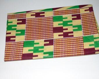 Kente Ankara head wrap