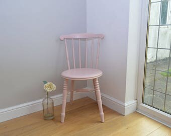Pretty Antique Penny Stickback Chair