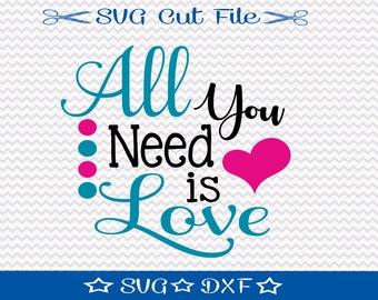 Valentine SVG Cut File / Valentines Day SVG / Valentines SVG File / Valentine Cut File / Valentine svg Design / Love svg